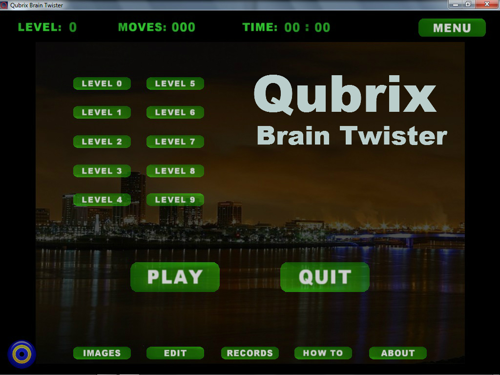 Click to view Qubrix Brain Twister 0.0.9. screenshot